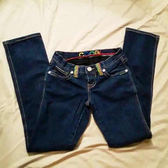 COOGI Denim - Coogi jeans. 3/4. ,Dark wash.